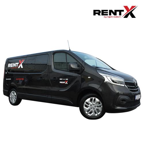 Renault Trafic Crni